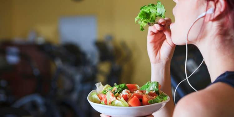 تغذیه-بعد-از-ورزش-برای-لاغر-شدن