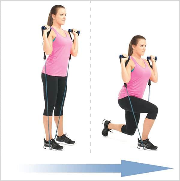 حرکت-کششی-و-قدرتی-برای-تقویت-عضلات-پا-لانژ-برعکس