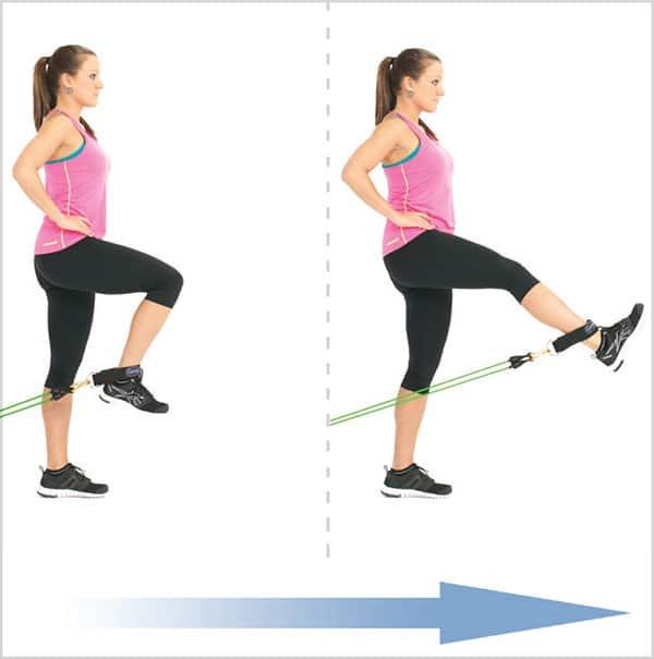 تقویت-عضلات-چهار-سر-ران-با-تمرینات-کش-بدنسازی-کشش-پای-ایستاده