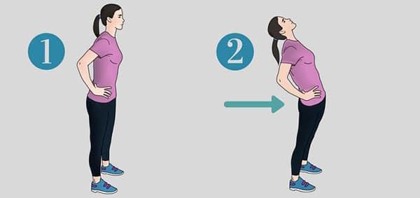 حرکت-ورزشی-برای-کاهش-درد-سیاتیک-کشش-ایستاده