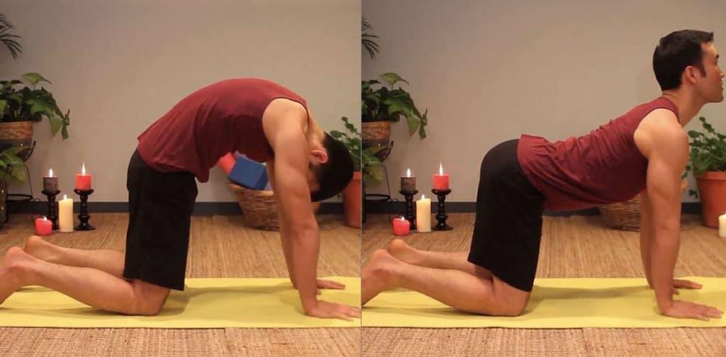 فیلم حرکات یوگا برای افزایش قد