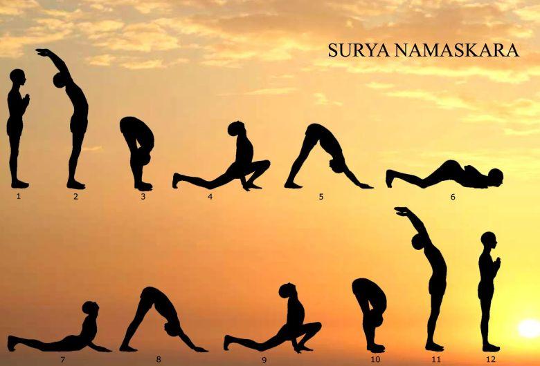 حرکات یوگا برای افزایش قد (عکس + فیلم + آموزش تصویری)