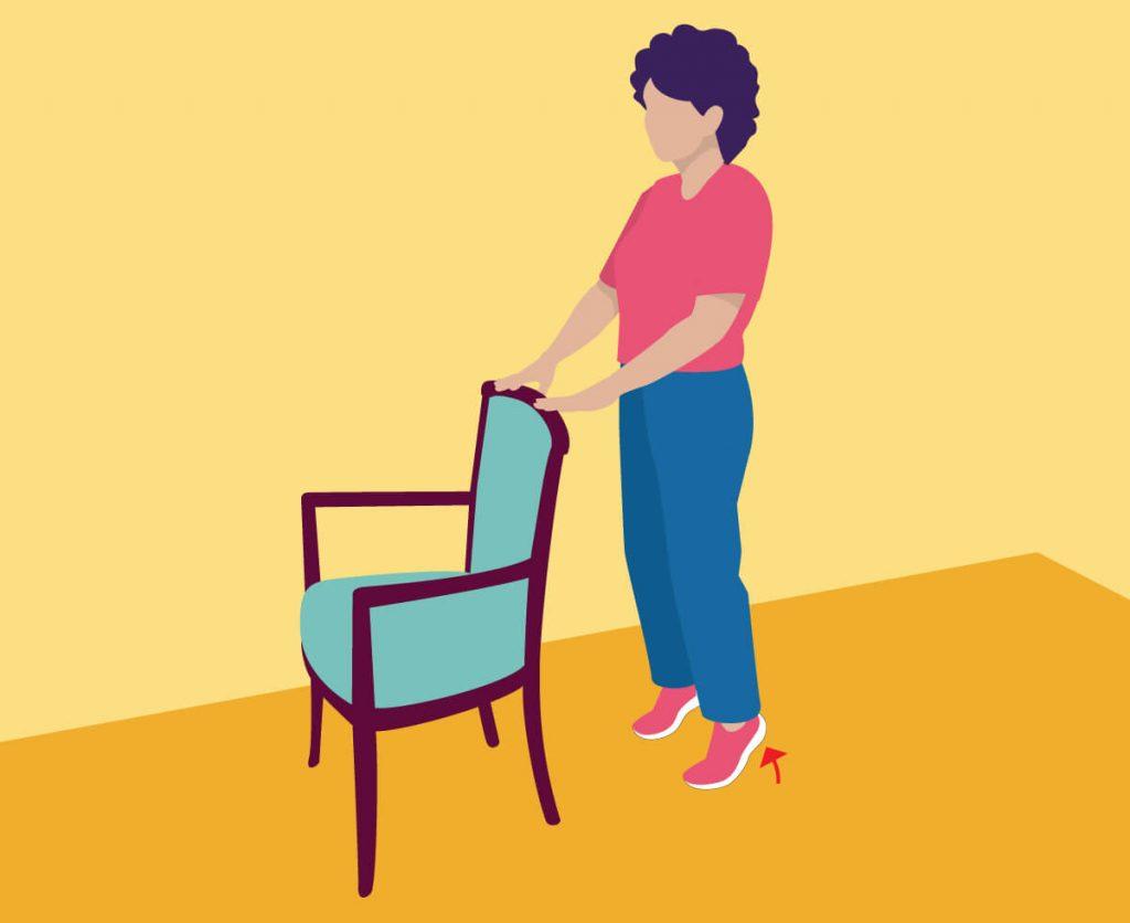 ورزش برای سالمندان در خانه