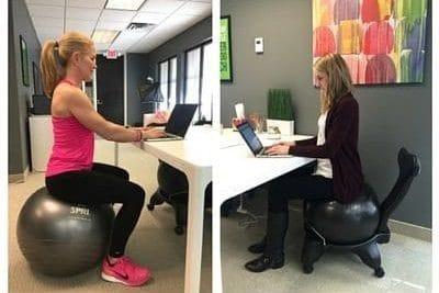 برنامه ورزشی برای محل کار