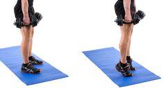 حرکات ورزشی پشت ساق پا